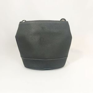 Furla Bags - Furla Black Leather Bucket Crossbody Bag